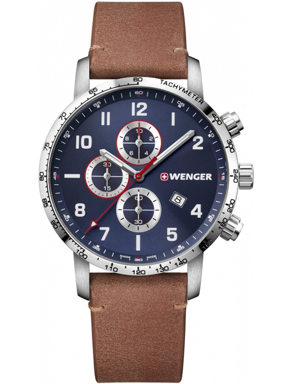 Wenger 01.1543.108 Attitude Chonograph 44mm 10 ATM