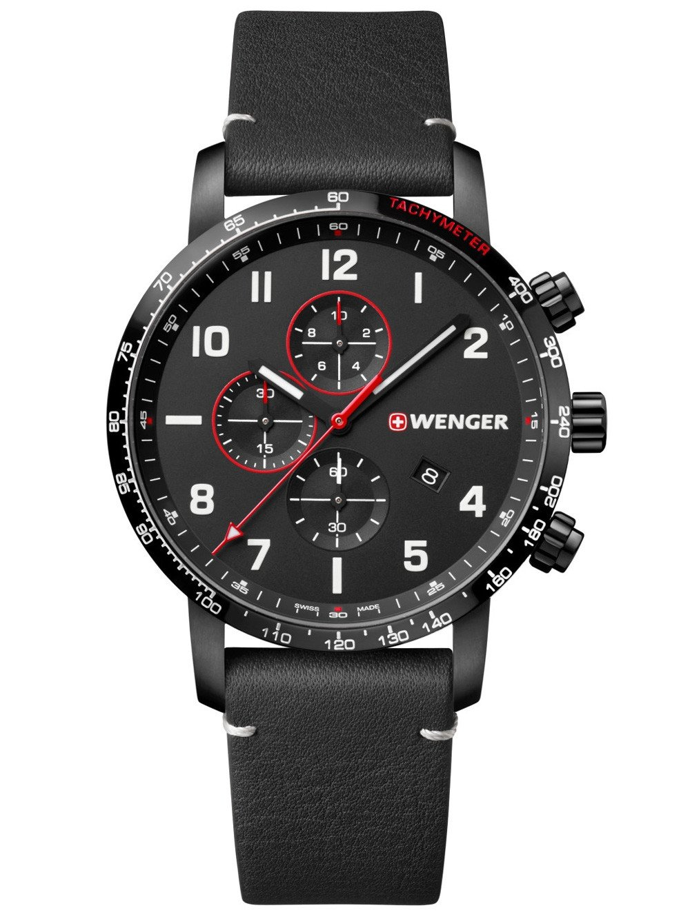 Wenger 01.1543.106 Attitude Chonograph 44mm 10 ATM
