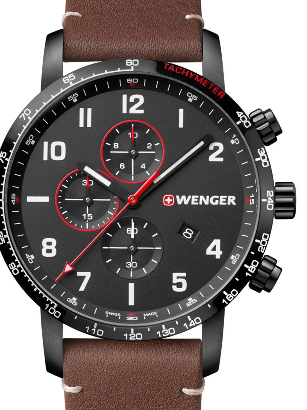 Wenger 01.1543.107 Attitude Chono Special Edition 44mm 10 ATM