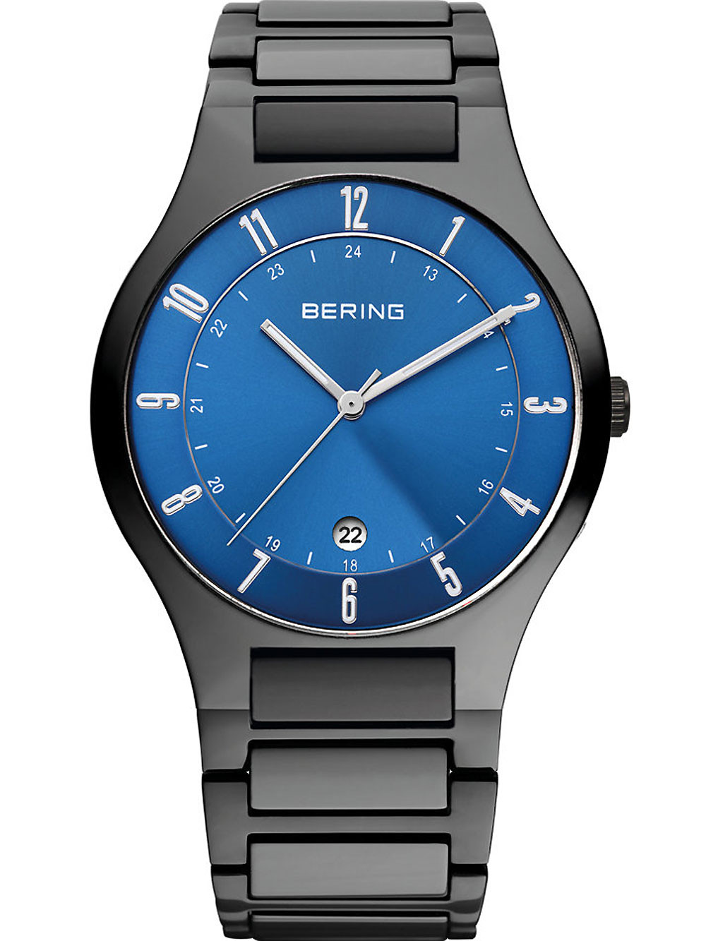 Bering 11739-727 Titanium Men's 39mm