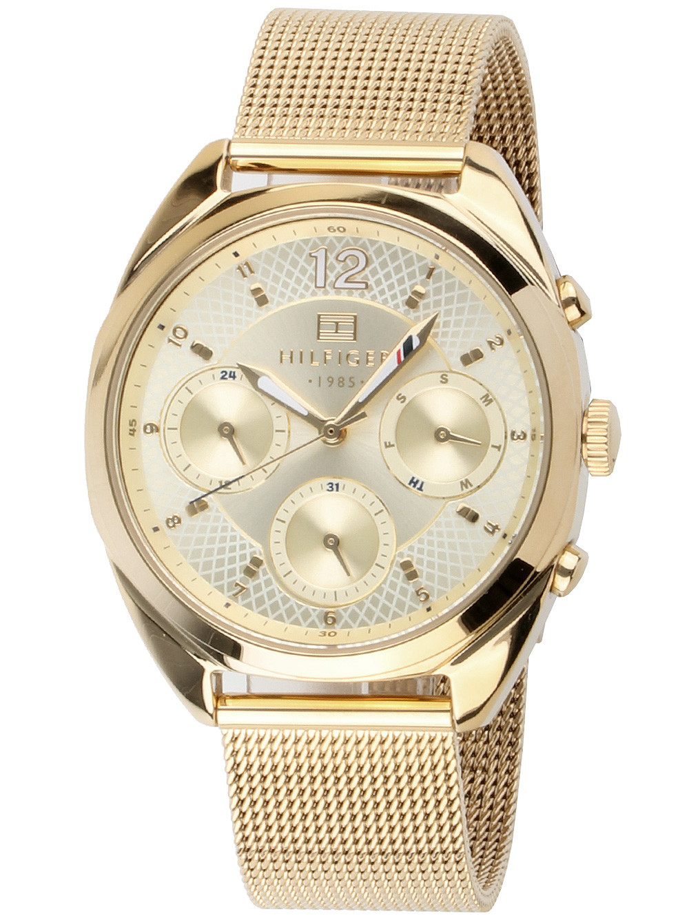 Tommy Hilfiger Mia 1781488 Ladies Watch Gold 37 mm