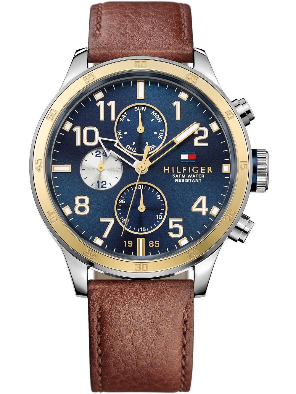 Tommy Hilfiger 1791137 Trent Men's 46 mm 5 ATM