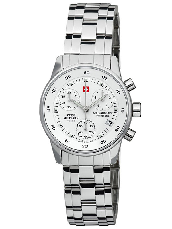 Swiss Military SM34013.02 Ladies Chronograph 31mm 5 ATM