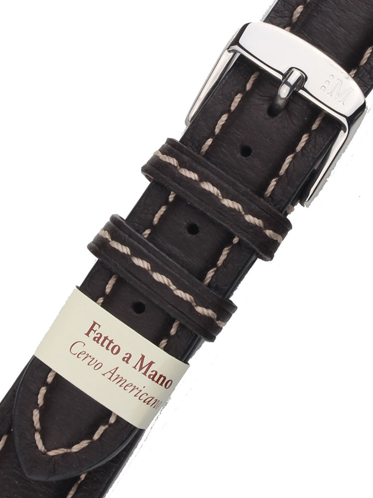 Morellato A01U3885A62030CR18 Brown Watch Strap 18mm