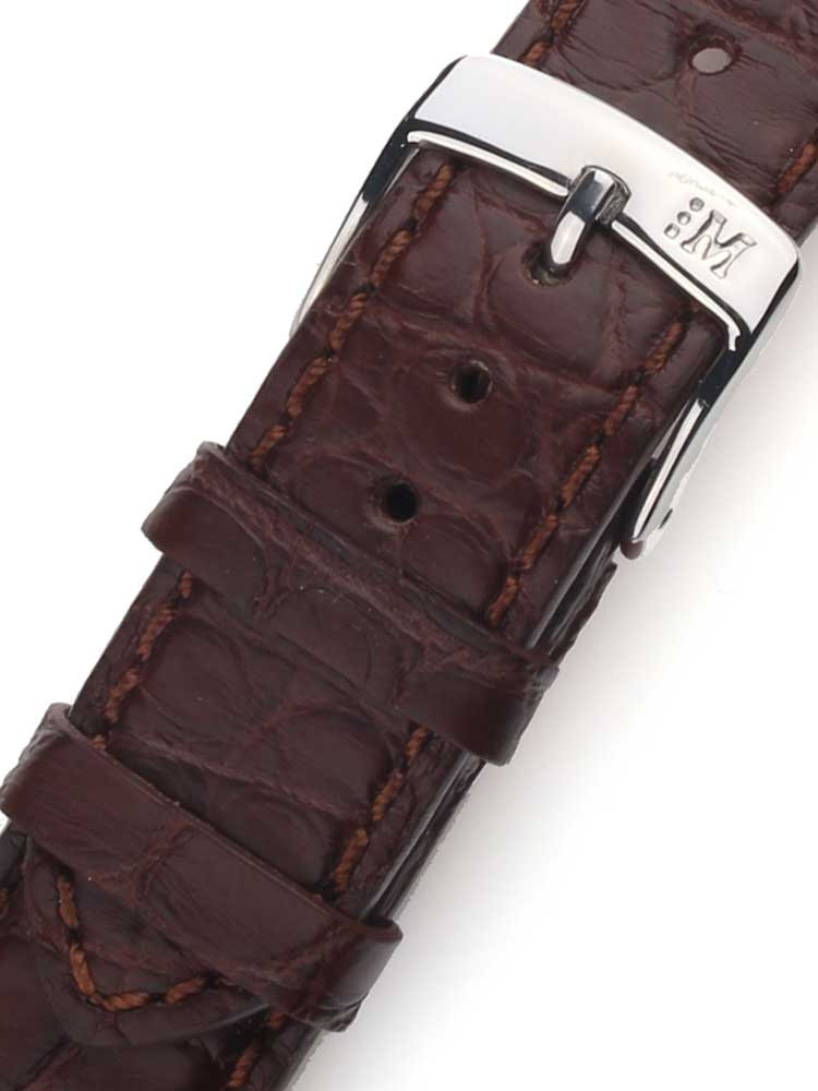 Morellato A01U3932A68032CR20 Brown Watch Strap 20mm