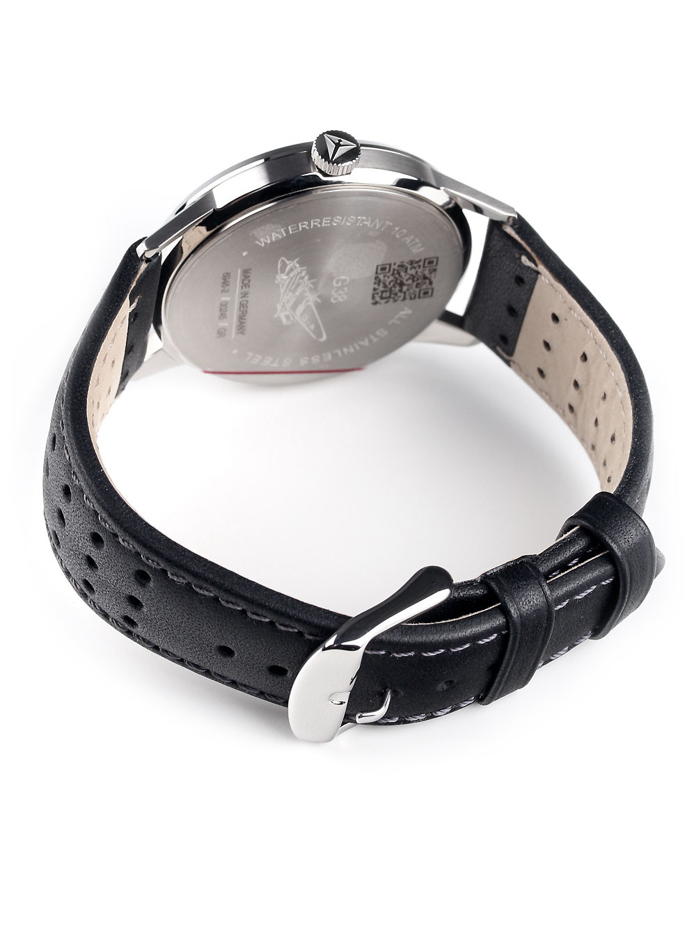 Junkers G38 6946-2 Dual Time Black 42 mm 10 ATM