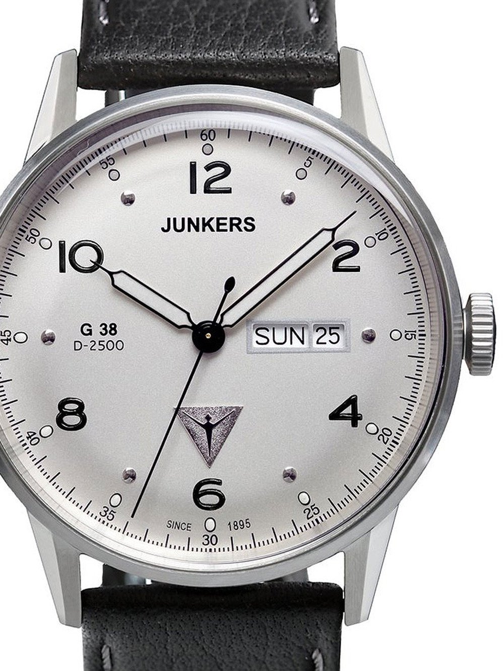 Junkers G38 6944-1 Day-Date Quartz 10 ATM 42 mm