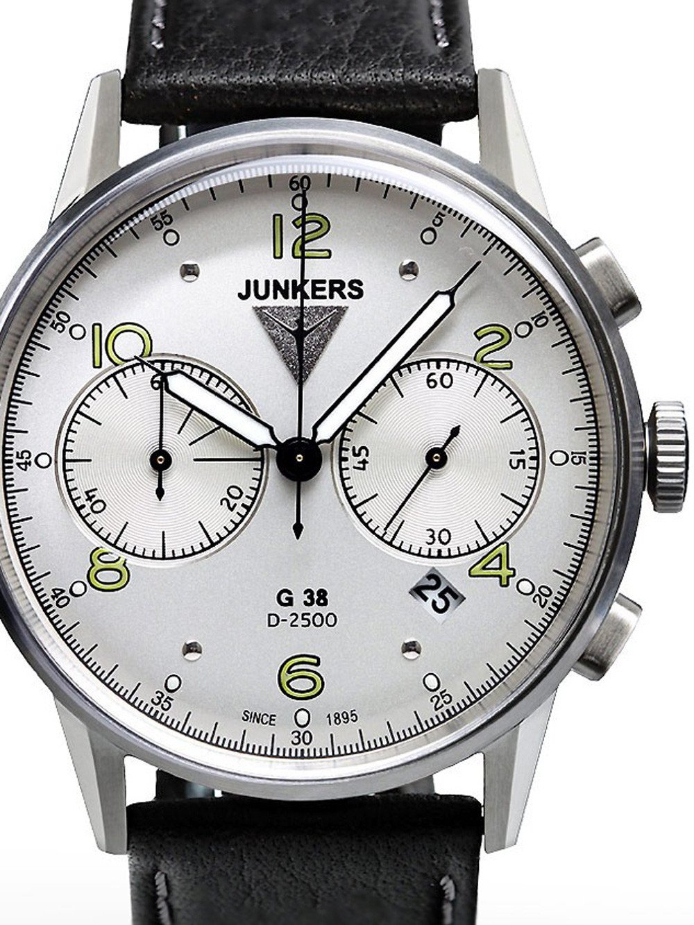 Junkers 6984-4 G38 Chronograph Men's 10 ATM 42 mm