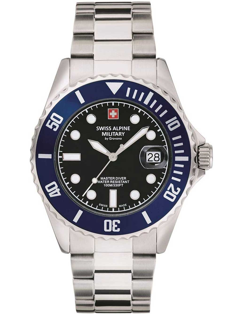Swiss Alpine Military 7053.1136 diver 42mm 10ATM