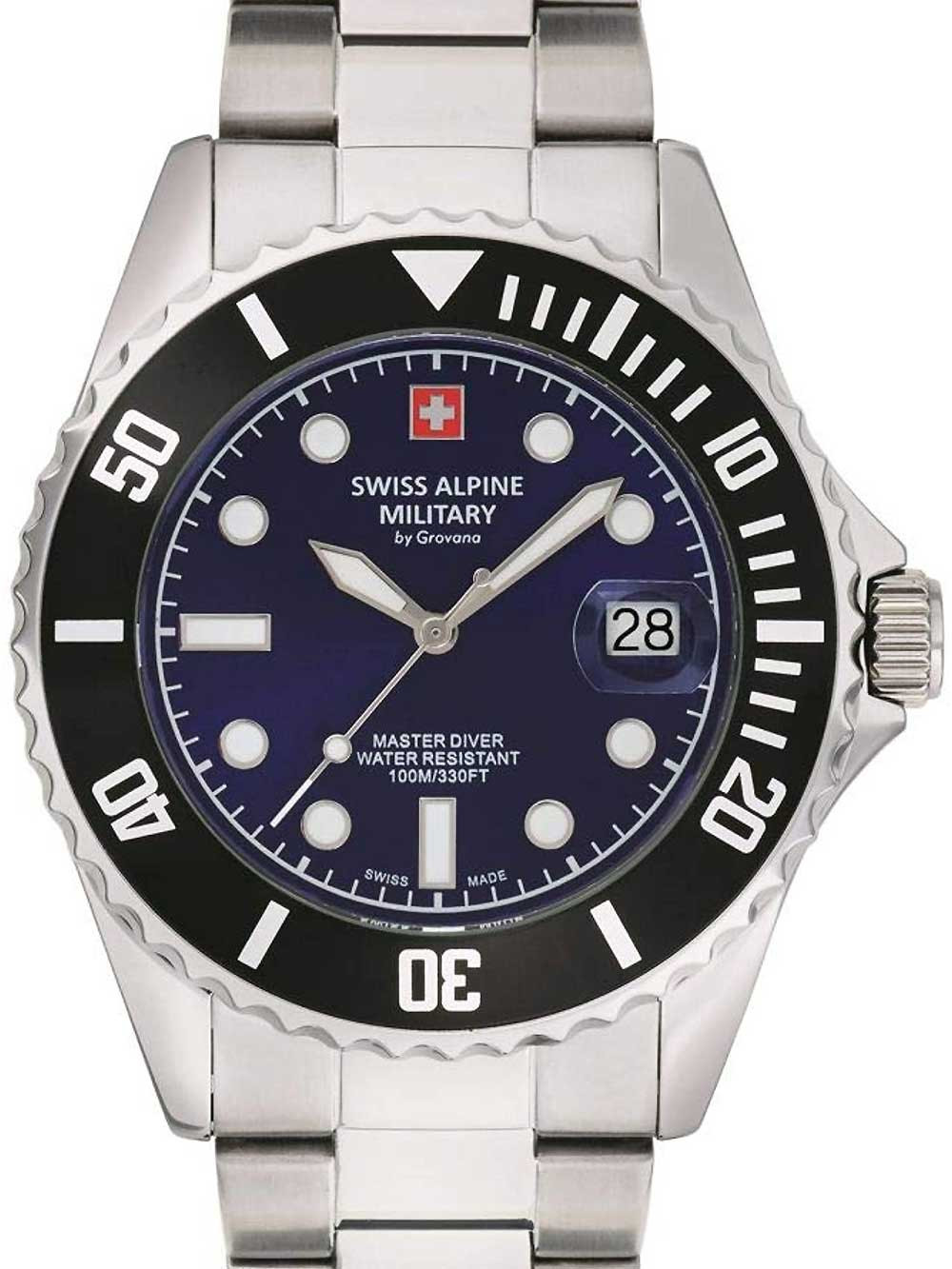 Swiss Alpine Military 7053.1138 diver 42mm 10ATM