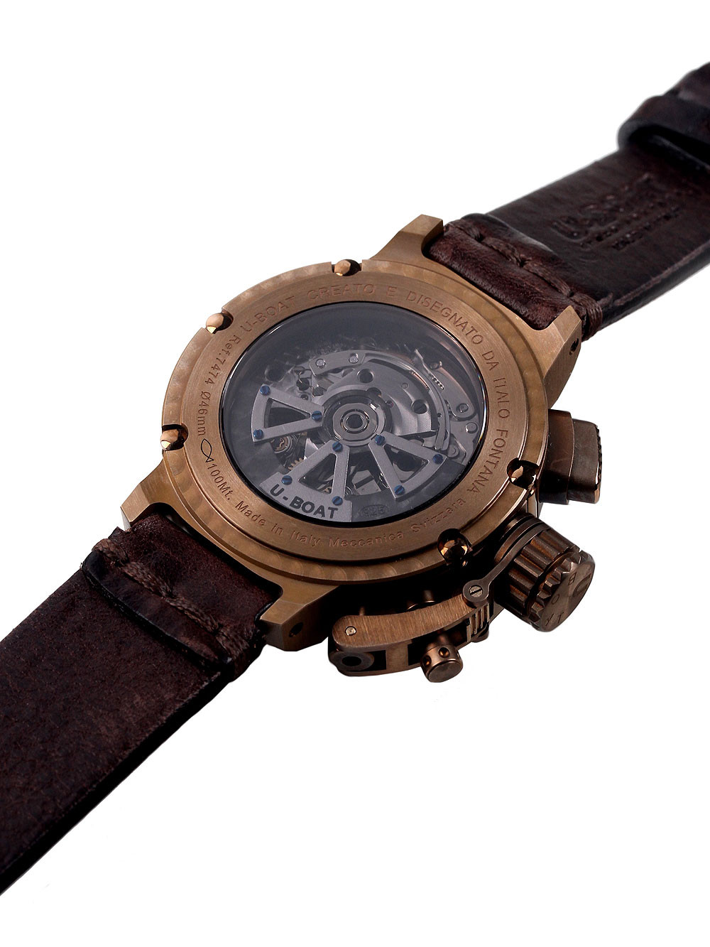 U-Boat 7474 Chimera Chronograph Bronze 46mm 10 ATM Limited x/300