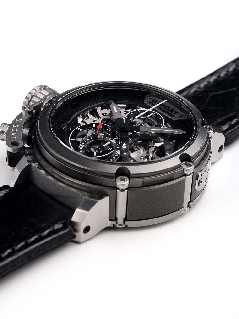 U-Boat 8028 Chimera Skeleton Chronograph Automatic 46mm 100M
