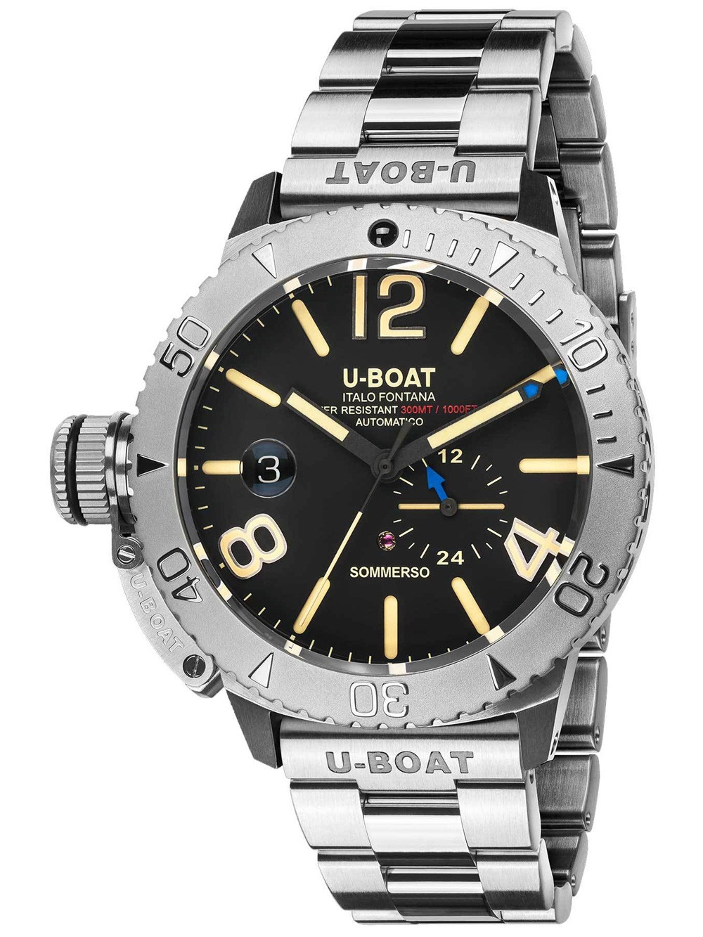 U-Boat 9007/A/MT Sommerso automatic 46mm 10ATM