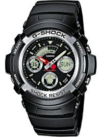 CASIO AW-590-1AER G-SHOCK 46mm 20 ATM