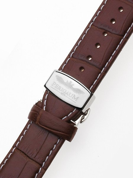 Perigaum Replacement Strap P-0812 28 x 190 mm Brown