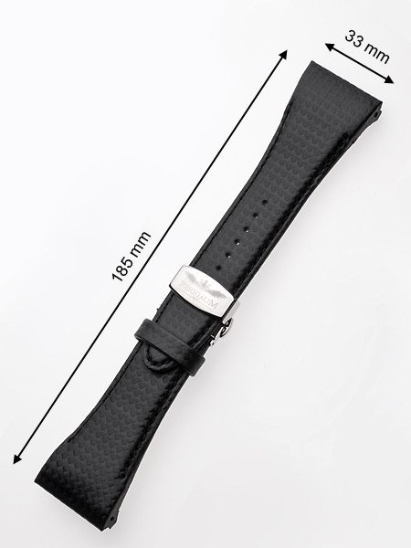 Perigaum Replacement Strap P-0815 33 x 185 mm Black