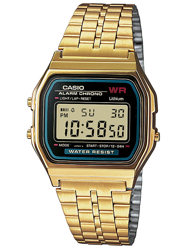 CASIO A159WGEA-1EF Collection 33mm 3 ATM