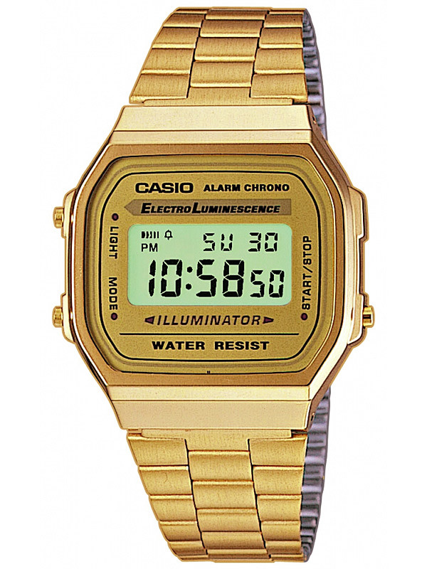 CASIO A168WG-9EF Collection 35mm 3 ATM