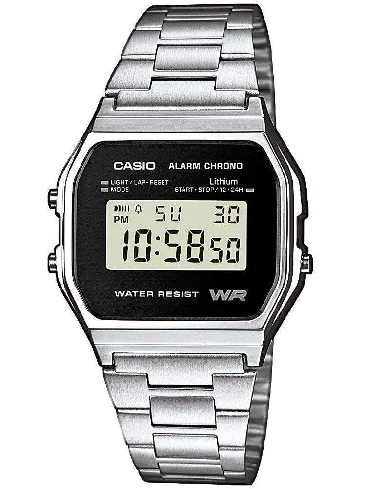 CASIO A158WEA-1EF Collection 33mm 3 ATM
