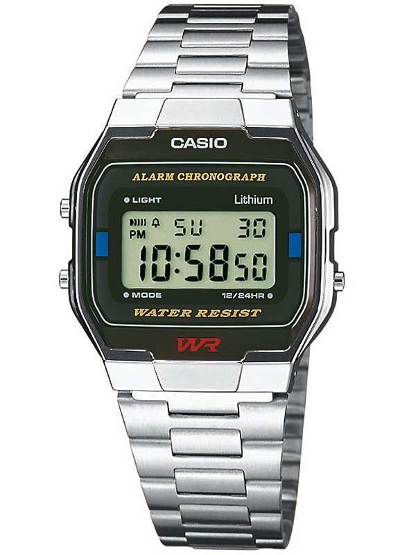 CASIO A163WA-1QES Collection 33mm 3 ATM