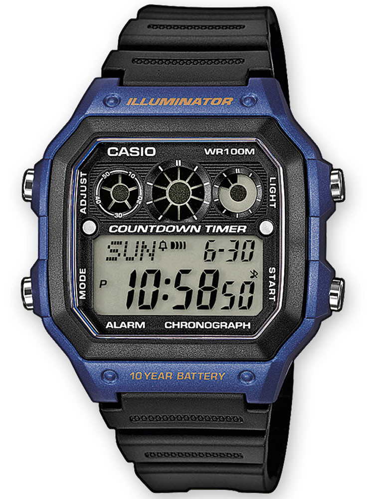 CASIO AE-1300WH-2AVEF Collection 10 ATM 42mm