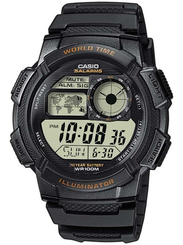 CASIO AE-1000W-1AVEF Collection 44mm 10 ATM