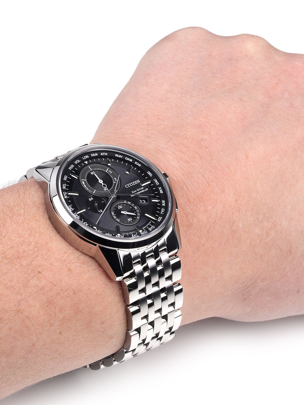 Citizen AT8110-61E Eco-Drive Elegant Radio Controlled Watch Men's 43mm 10 ATM