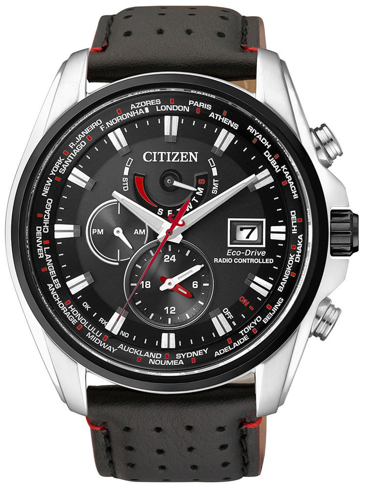 Citizen AT9036-08E Eco-Drive Men's Radio Contr. Watch Sapphire