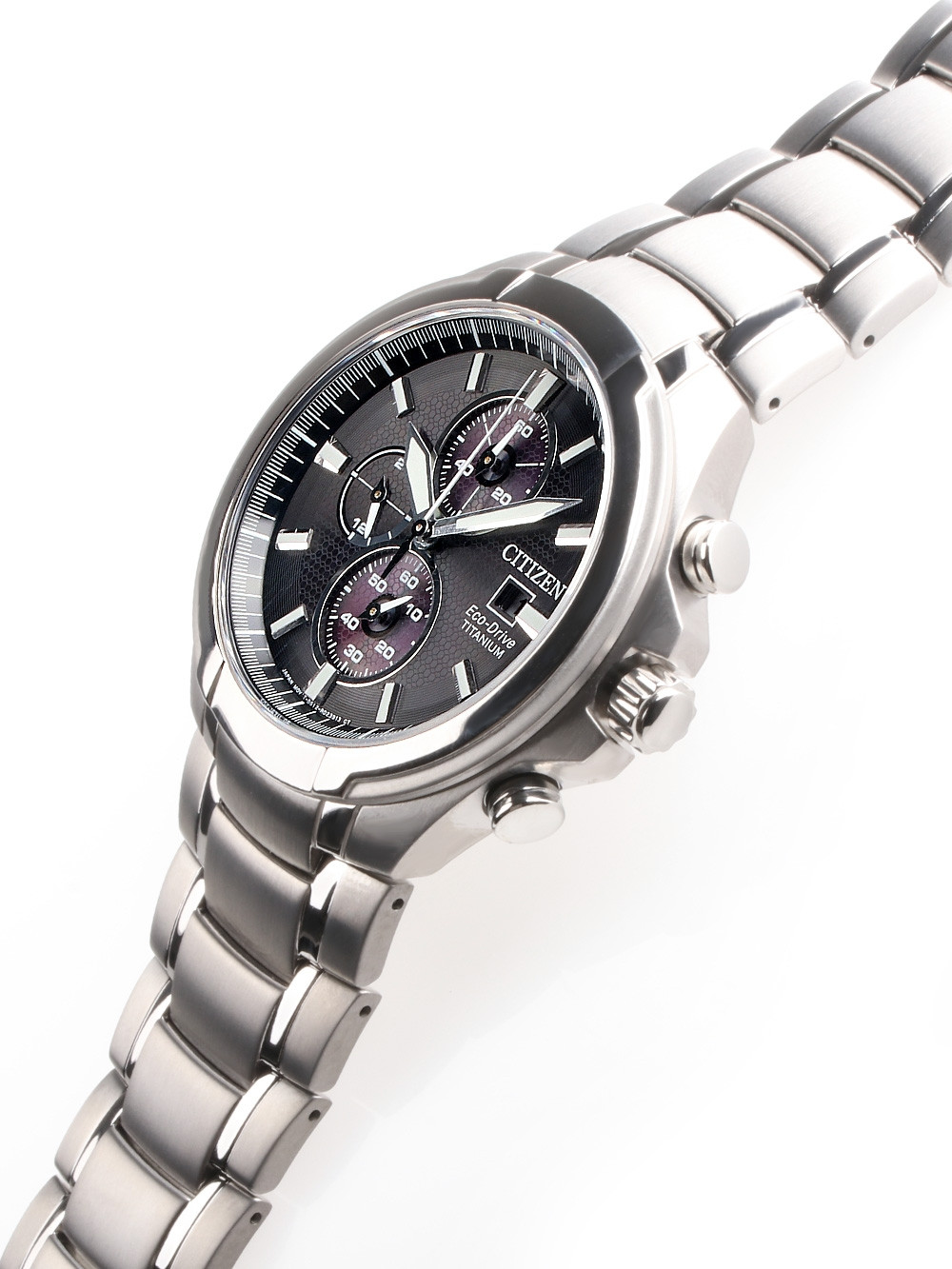 Citizen CA0700-86E Eco-Drive Super-Titanium Chronograph 42mm 10 ATM