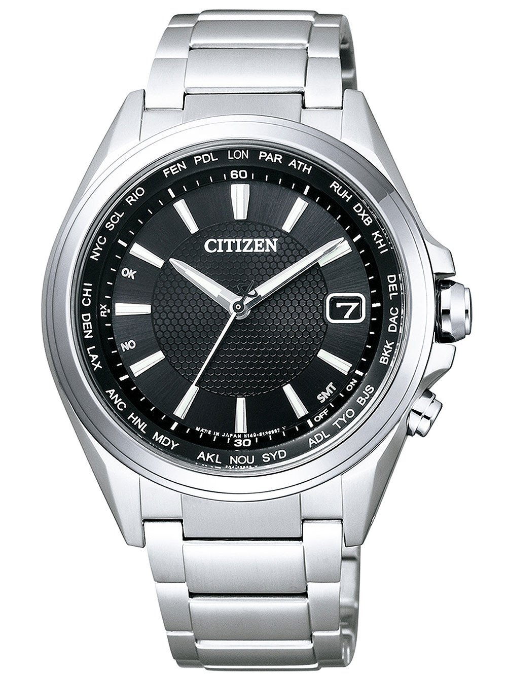 Citizen CB1070-56E Eco-Drive Men's Radio Controlled Titanium 42mm 10 ATM