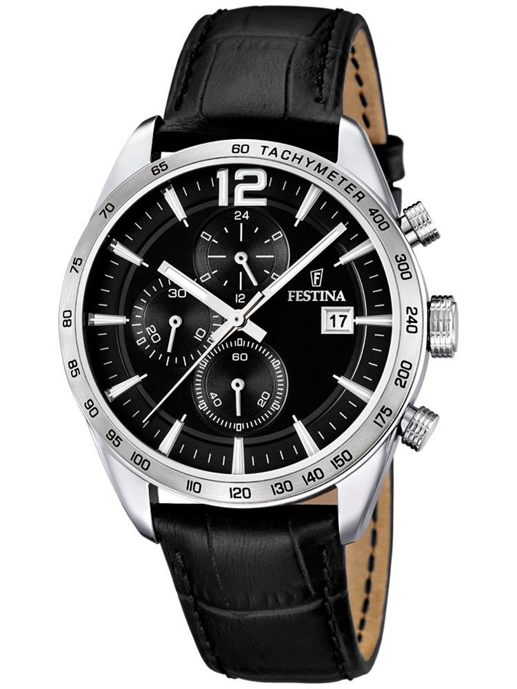 Festina F16760/4 Men's Chronograph 5 ATM 44 mm