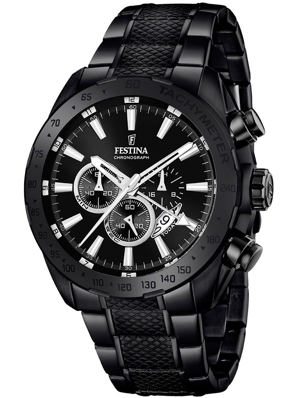 Festina F16889/1 Dual-Time Chronograph 44mm 10 ATM