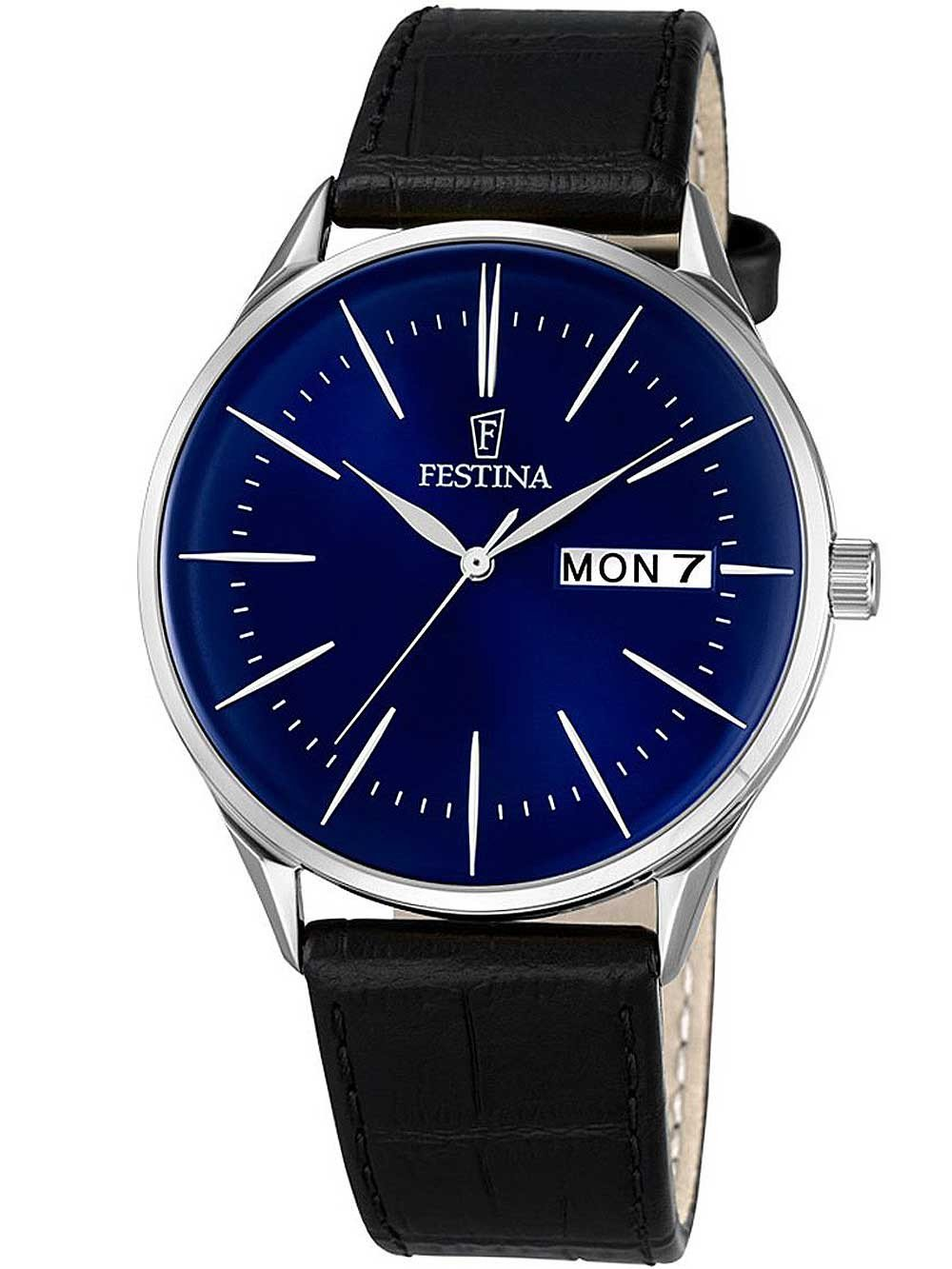 Festina F6837/3 Multifunction Men's 43mm 3 ATM