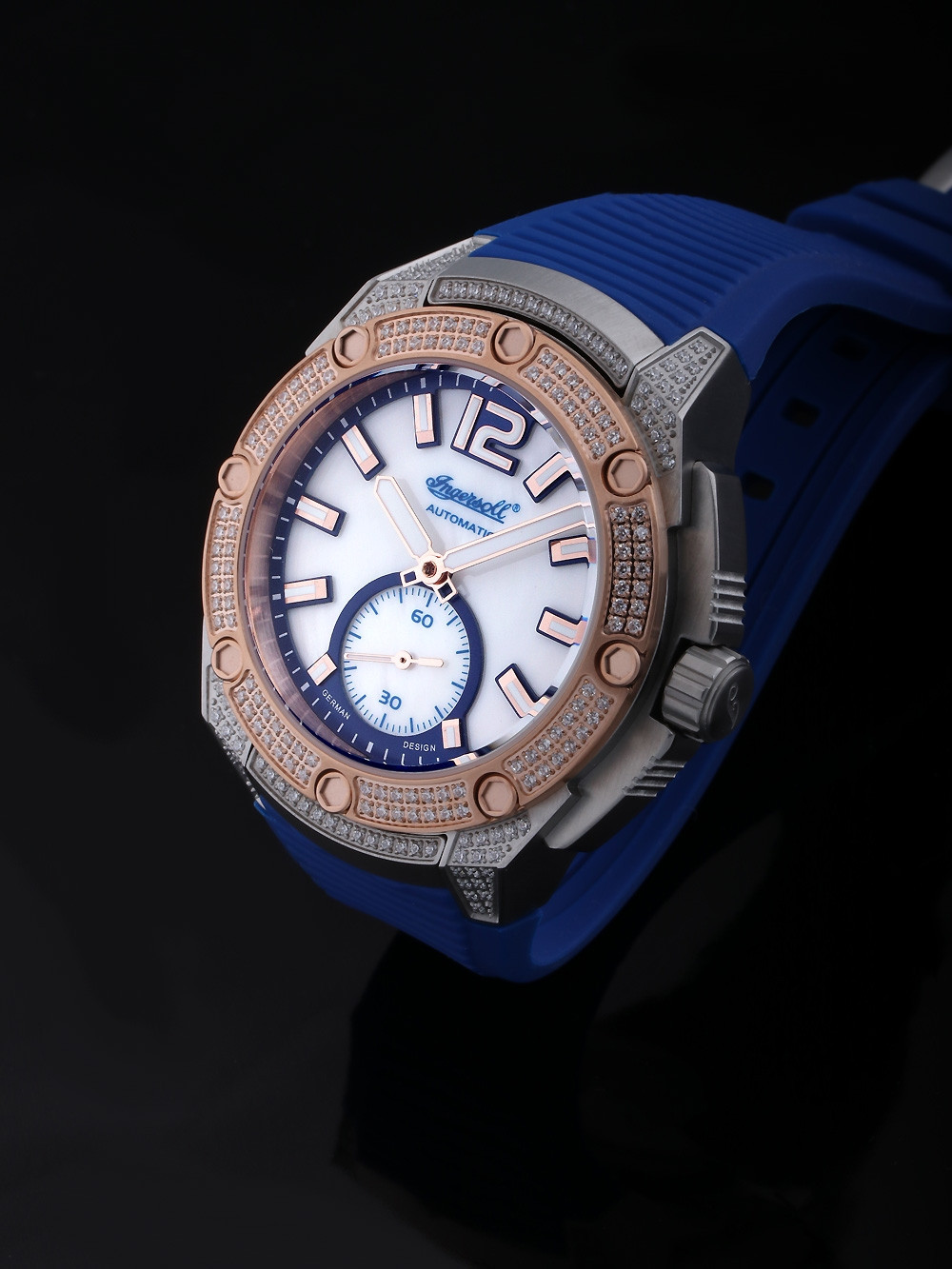 Ingersoll IN1104BL San-Francisco Ladies Automatic 38mm 5 ATM