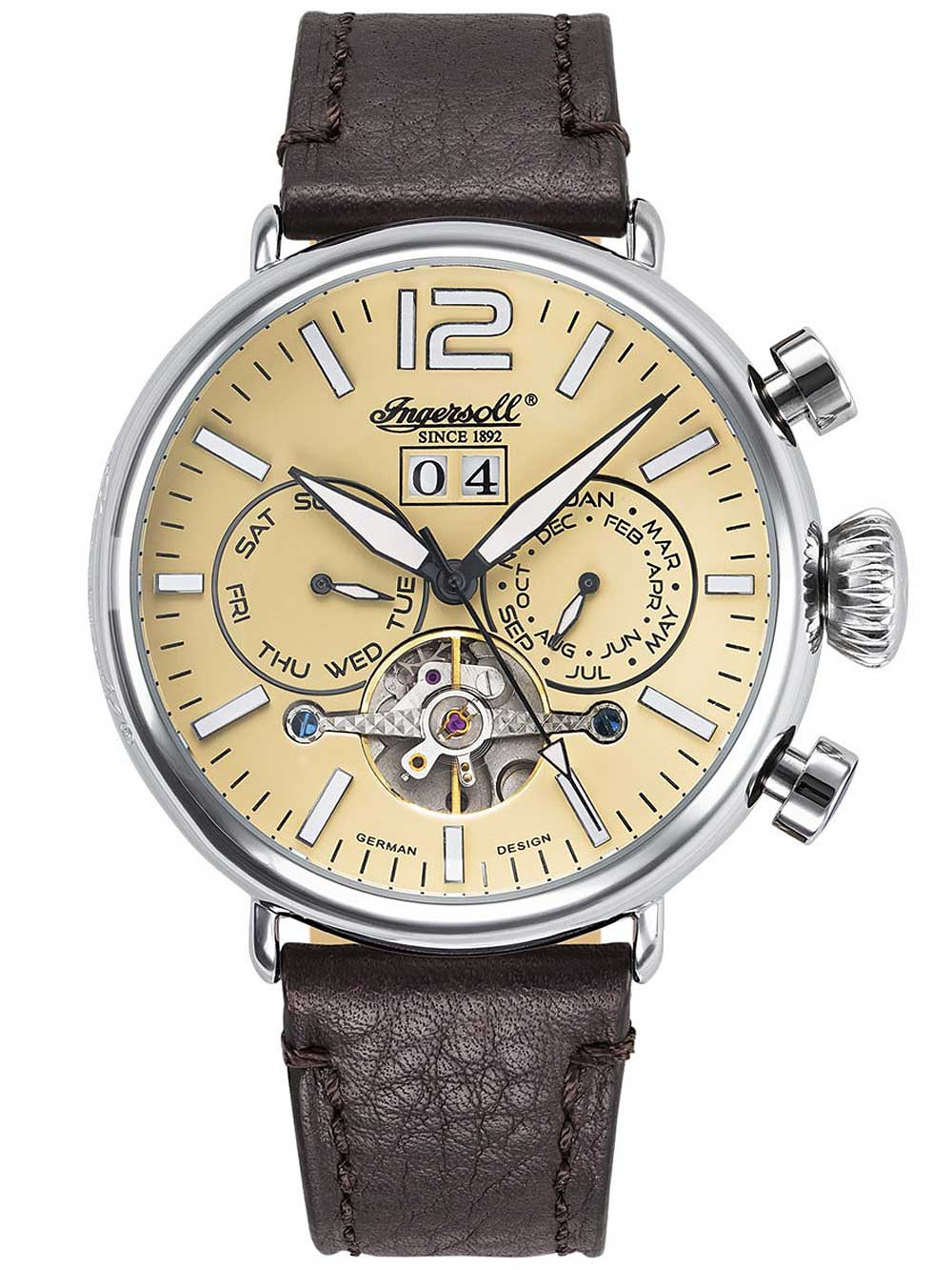 Ingersoll IN1230CR Men's Nakota Automatic 46mm 5 ATM