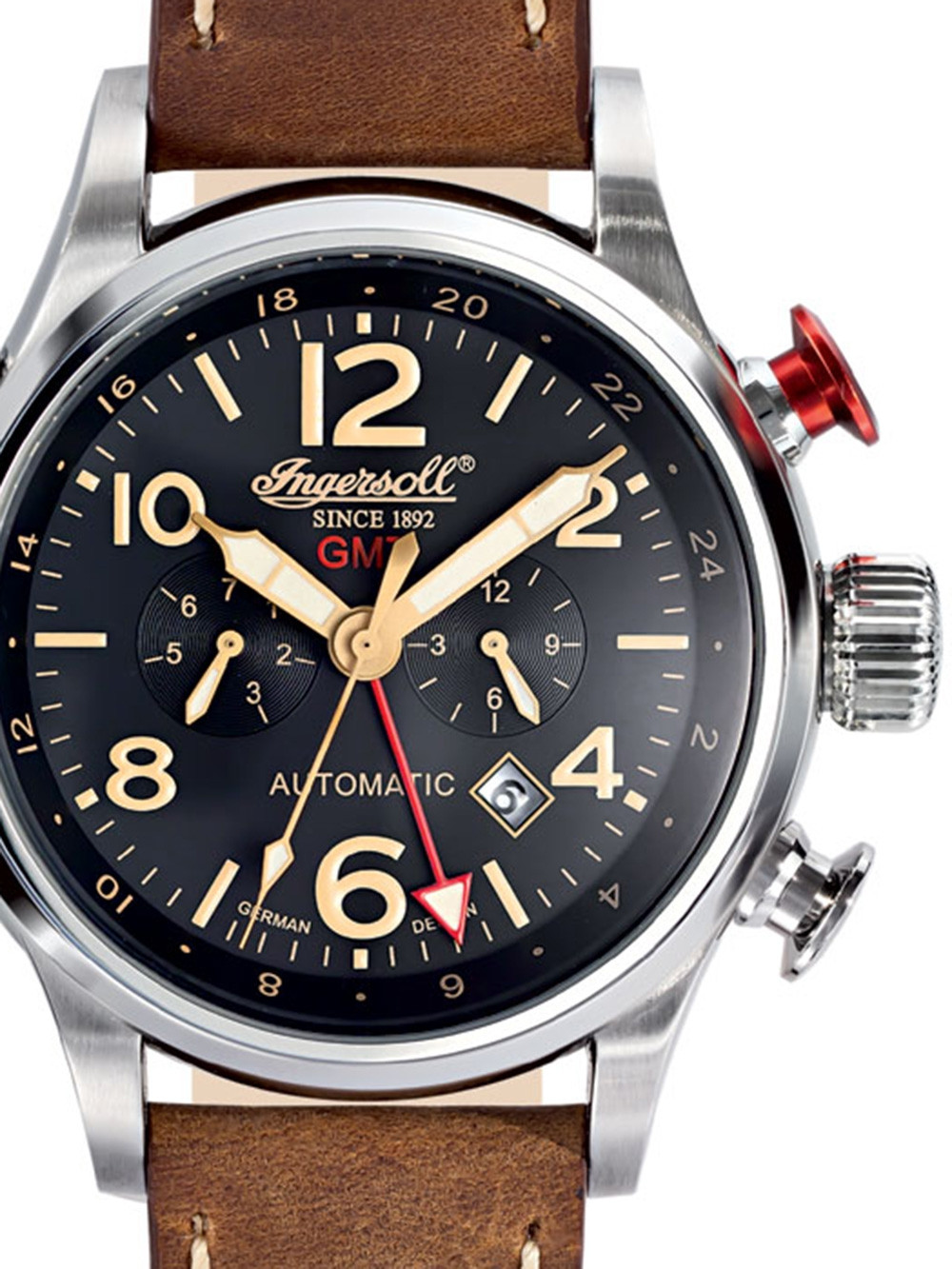 Ingersoll IN3218BK Lawrence GMT Automatic