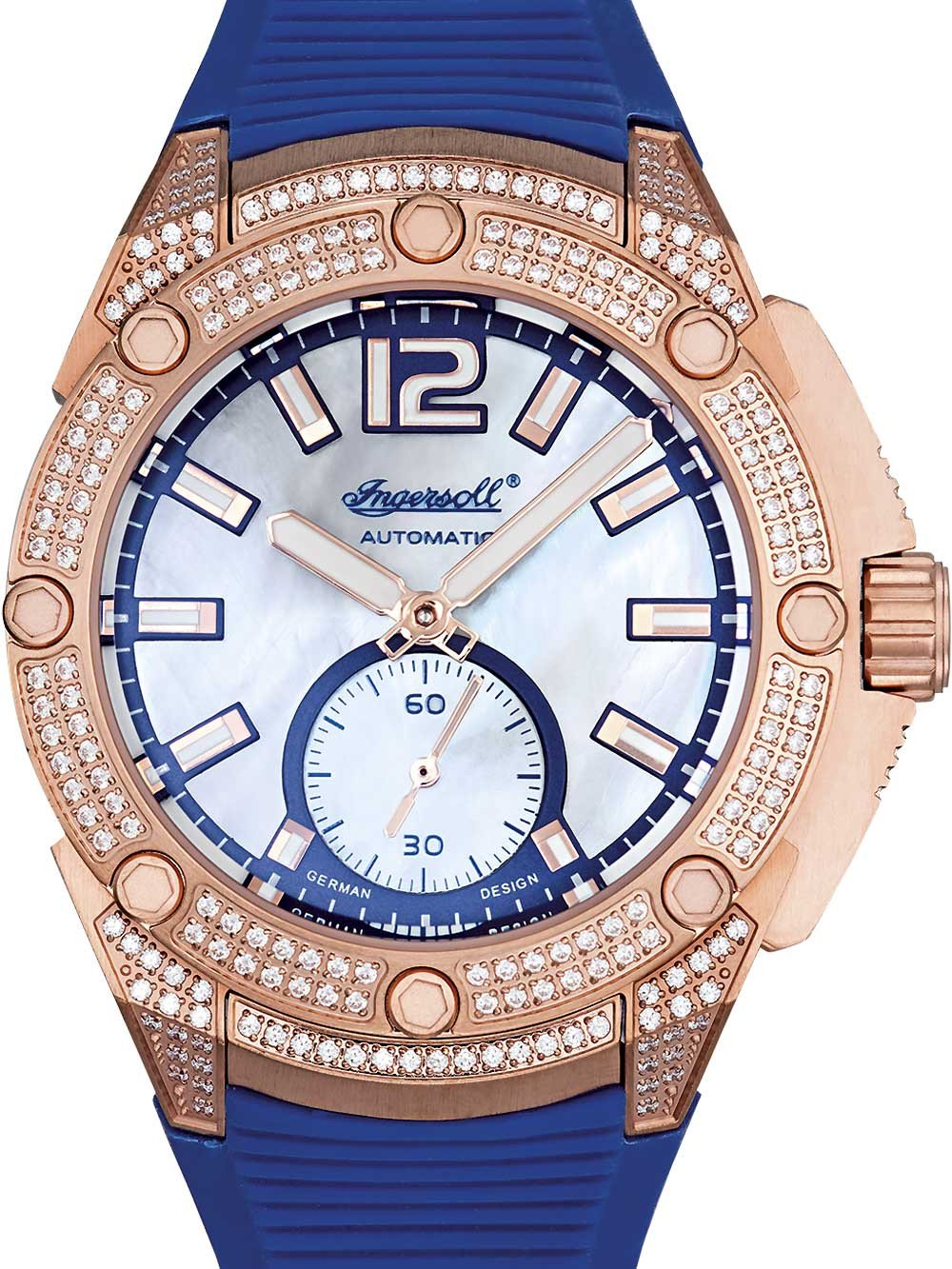 Ingersoll IN1104RG San-Francisco Ladies Automatic 38mm 5 ATM