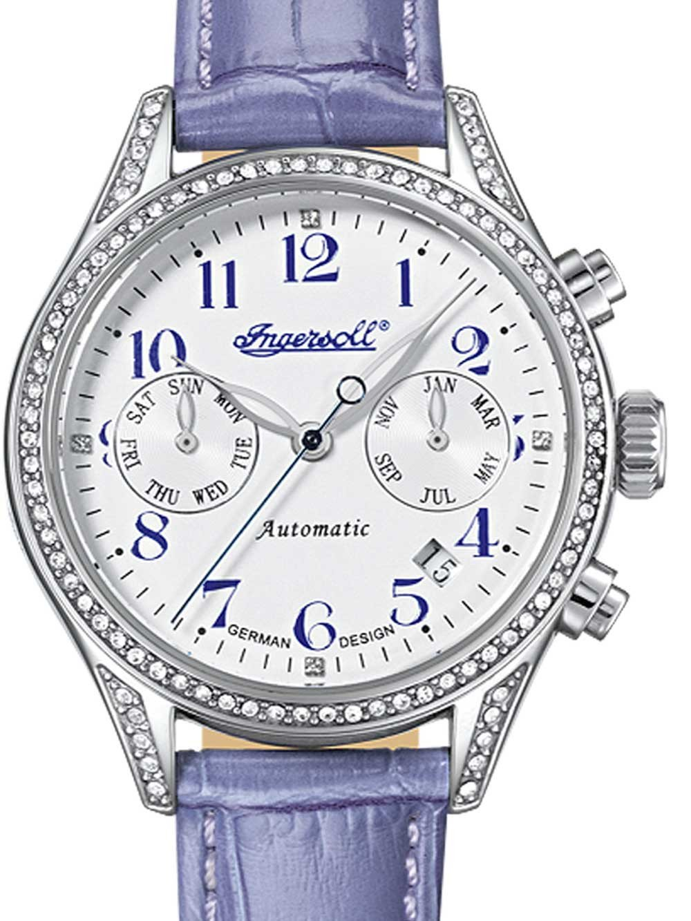 Ingersoll IN7401SWH Seminole Ladies Automatic 36mm 5 ATM