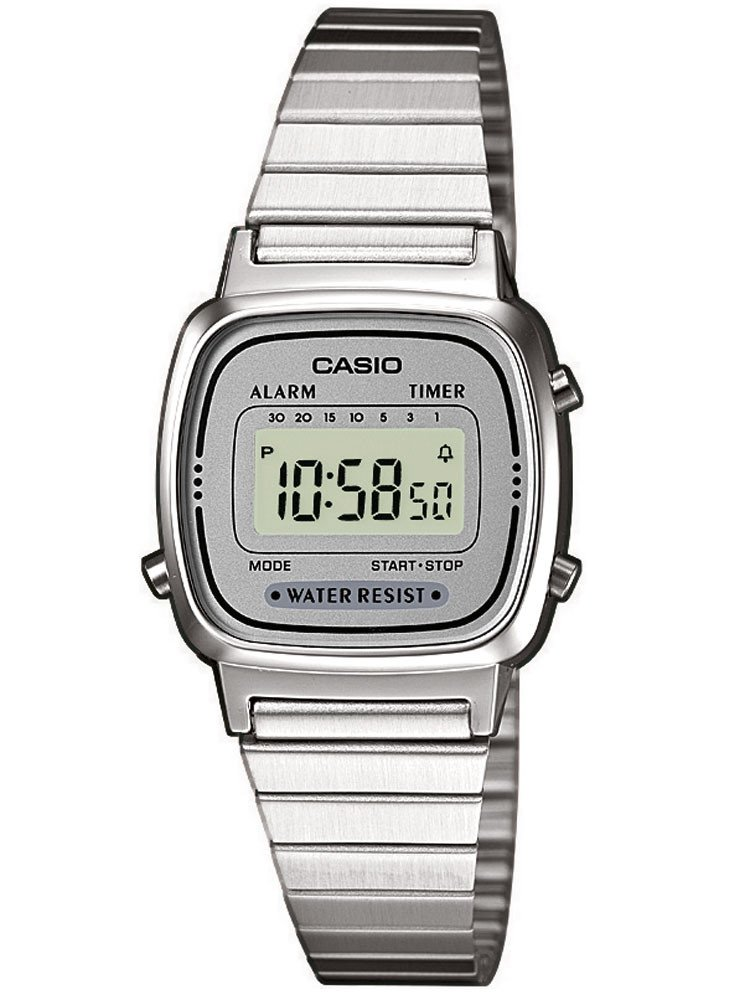 CASIO LA670WEA-7EF Collection Ladies 24mm 3 ATM