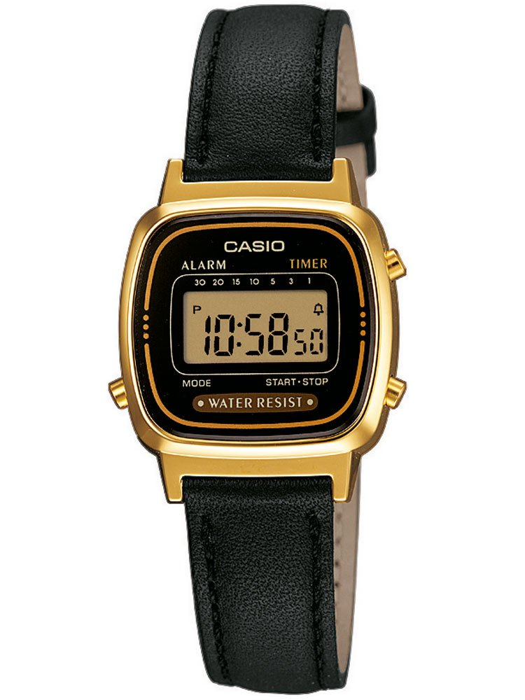 CASIO LA670WEGL-1EF Collection Ladies 24mm 3 ATM