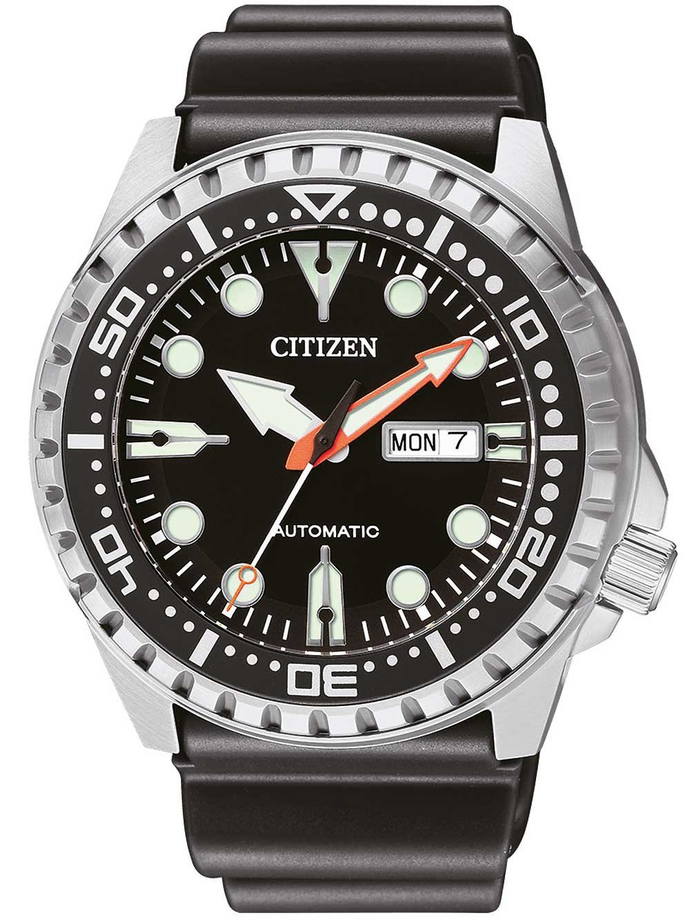 Citizen NH8380-15EE Day-Date Automatic 46mm 10 ATM