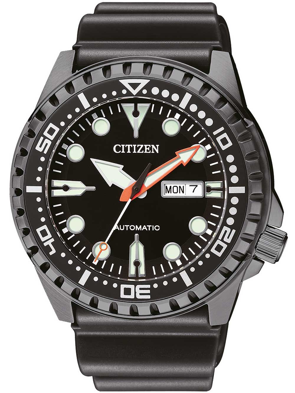 Citizen NH8385-11EE Day-Date Automatic 46mm 10 ATM