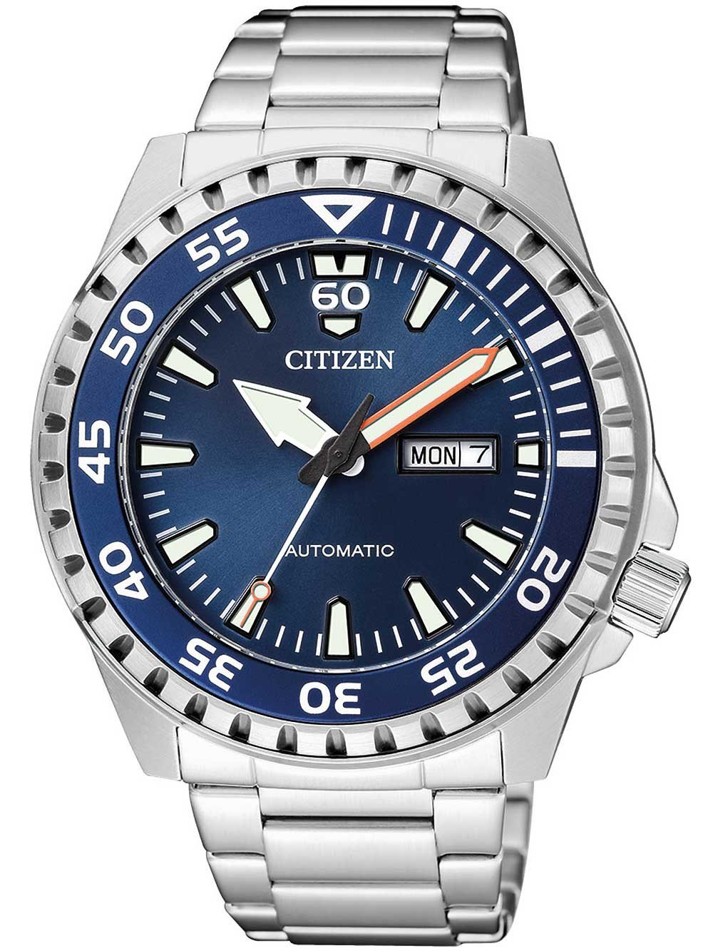 Citizen NH8389-88LE Day-Date Automatic 46mm 10 ATM