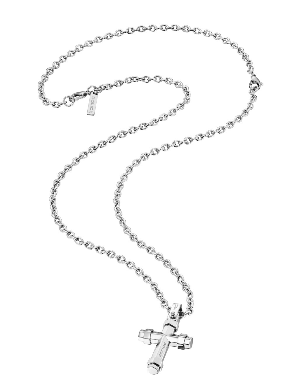 Police Necklace PJ26038PSS.01 Stainless Steel