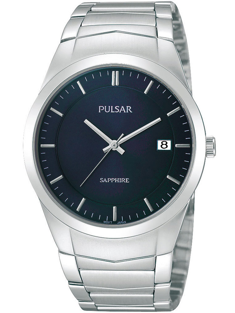 Pulsar PS9131X1 Men's Watch Silver Blue with Sapphire Glass