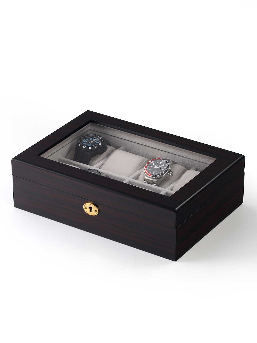 Rothenschild Watch Box RS-2105-8E for 8 Watches Ebony