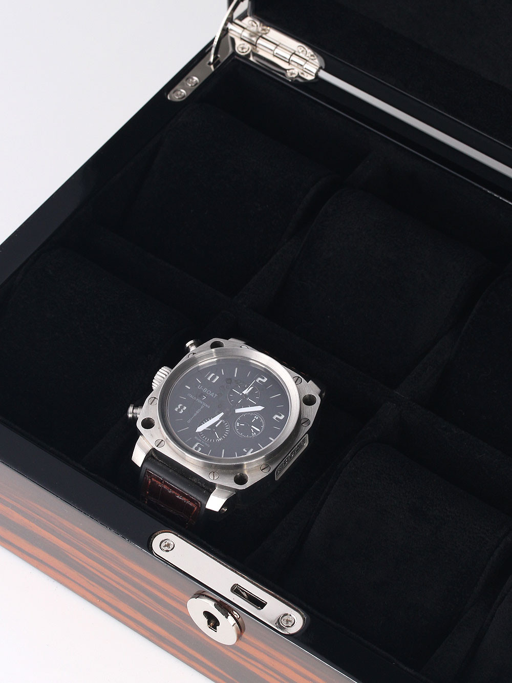 Rothenschild Watch Box RS-2264-8-E for 8 Watches Ebony