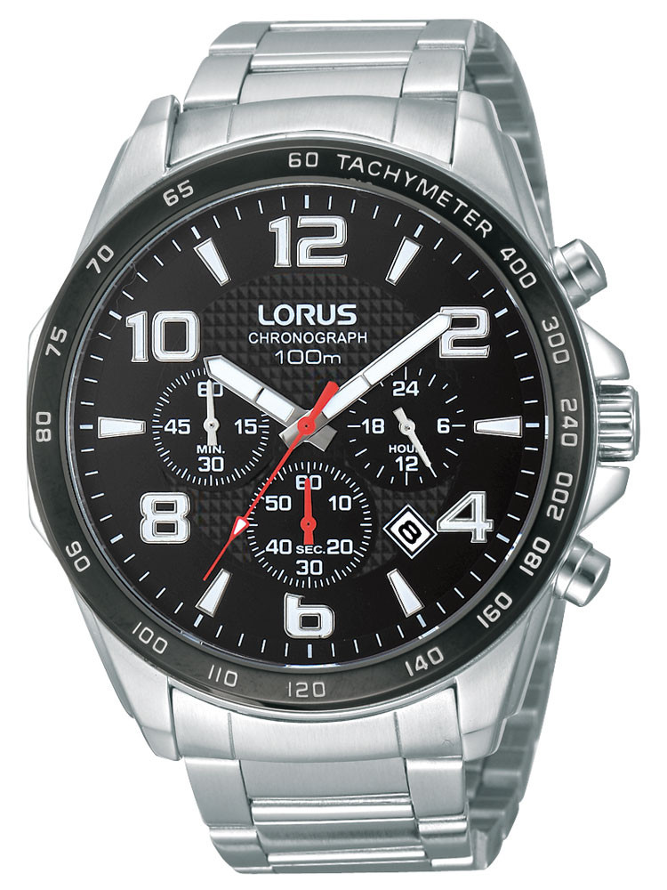 Lorus RT351CX9 Men's Chronograph 10 ATM 45 mm