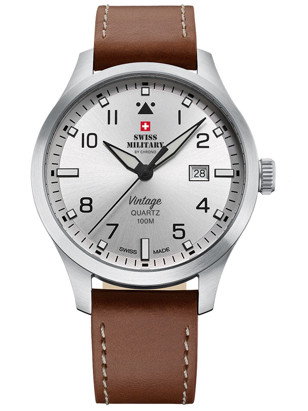 Swiss Military SM34078.05 men´s watch 43mm 10ATM