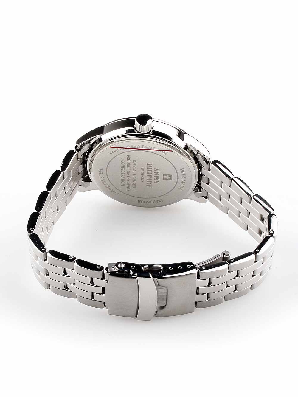 Swiss Military SMP36009.01 Men's 41mm 5 ATM